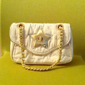 Betsey Johnson Quilted Star Purse